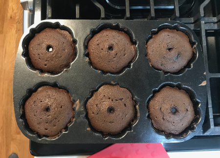 Chocolate Bundts - Baked in Pan