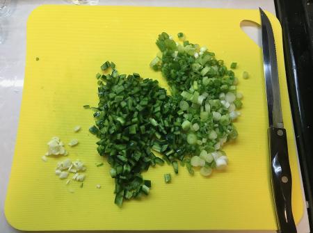 Menemen - Cut Vegetables