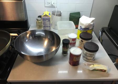 Soda Bread - Ingredients