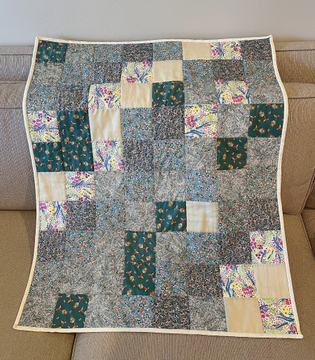 2021 Quilt - Laid Out