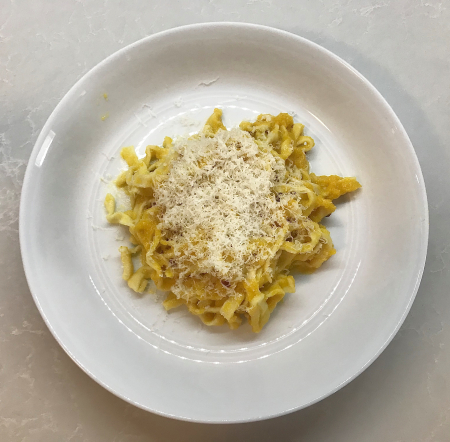 KAF Pasta - Served with Cheese