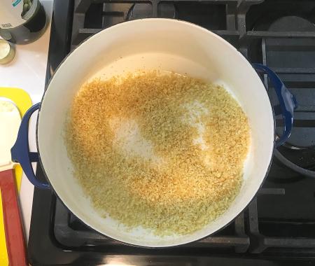 Broccolini Pasta - Panko Browned in Pot