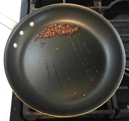 Omni Sichuan Eggplanet - Peppercorns in Pan