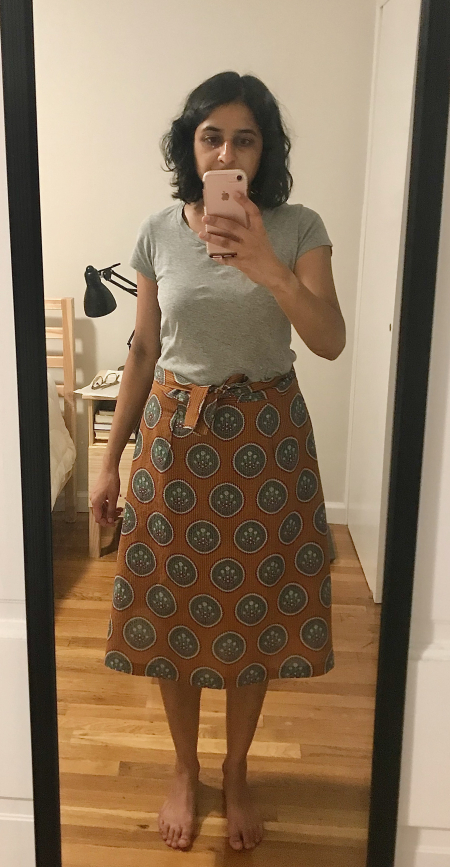 Make W Skirt - Madhu Skirt Modeled