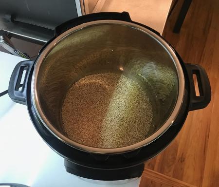 Moosewood Quinoa Stew - Quinoa in Instant Pot