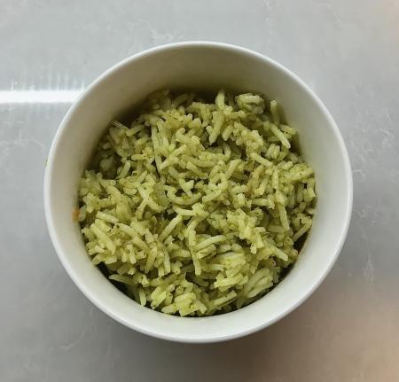 Arroz Verde - Served