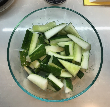 Sichuan Pickled Cucumbers - Cucumbers