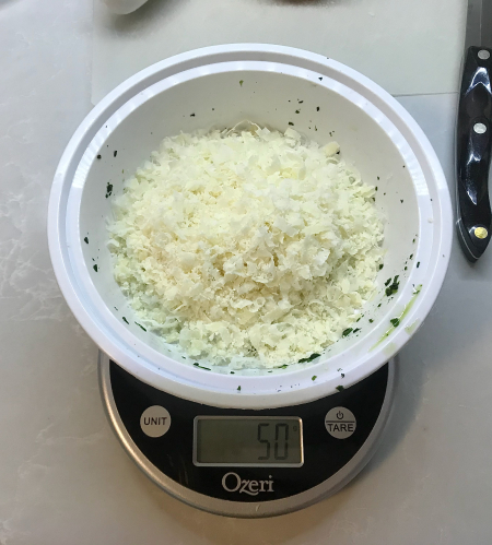KAF Spinach Dip - Parm Measured
