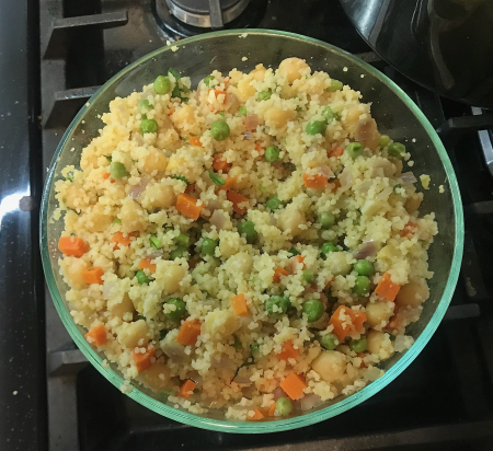 Couscous - Served