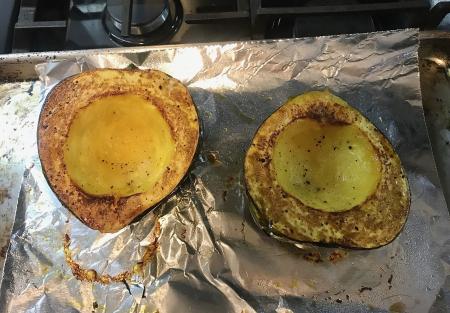 Stuffed Acorn Squash - Roasted