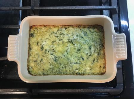 KAF Spinach Dip - Baked