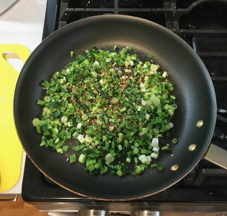 Menemen - Vegetables Cooking with Pepper