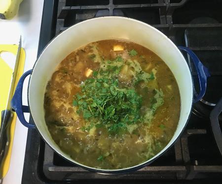 Dishoom Aloo Sabzi - Finished in Pot
