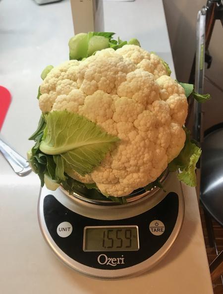 Miznon Cauliflower - Weighed