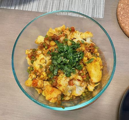 Ministry of Curry Cauliflower